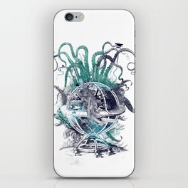 strange artefact amusement park iPhone Skin