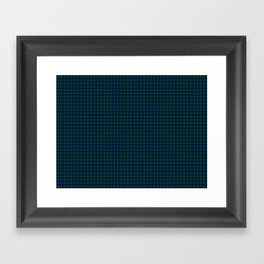Barclay Tartan Framed Art Print