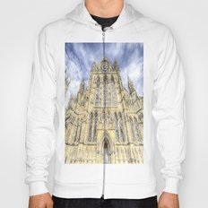 York Minster Cathedral Snow Art Hoody