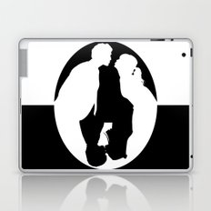 Pushing Daisies silhouette kiss Laptop & iPad Skin