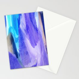 375 - Abstract Flower Design Stationery Cards