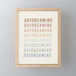 Daydreaming Framed Mini Art Print