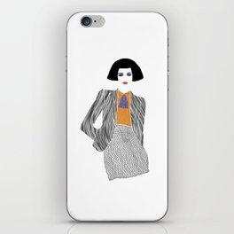 Mrs. E. iPhone Skin
