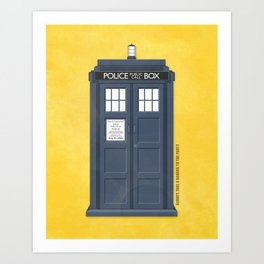 9th Doctor - DOCTOR WHO Art Print