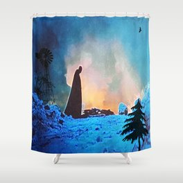 Despair Shower Curtain