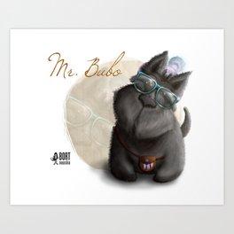 Mr. Bubo Art Print