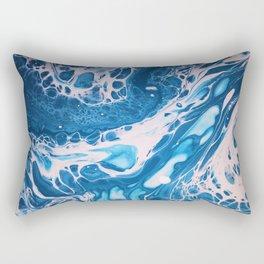 Glossy Currents 1 Rectangular Pillow