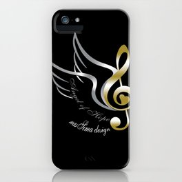 Angel of Hope Wings iPhone Case
