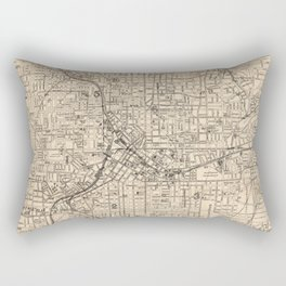 1906 Map of Atlanta, GA Rectangular Pillow