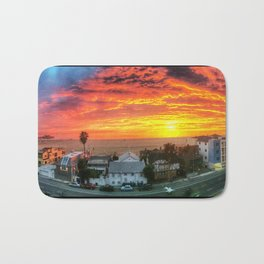Santa Monica Sunset Bath Mat
