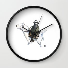 Numero 0 -Cosi che cavalcano Cose - Things that ride Things- Wall Clock