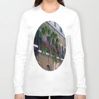 new orleans Long Sleeve T-shirts featuring New Orleans Florals by Brown Eyed Lady