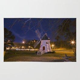 Yorktown Windmill at Night Rug