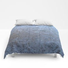 The freezing glass. Comforters