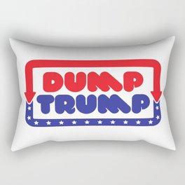 Dump Trump Rectangular Pillow