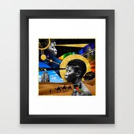 Technicolor I Framed Art Print