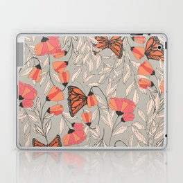 Monarch garden 001 Laptop & iPad Skin