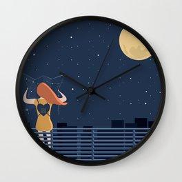 artista viaggiatore Wall Clock