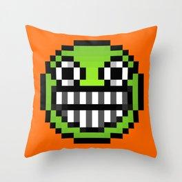 Big Grin Throw Pillow