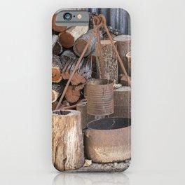 The Camp Fire iPhone Case