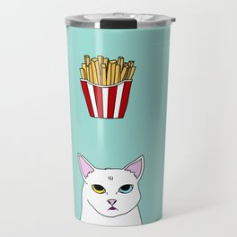 Fat D. Loves Fries Travel Mug