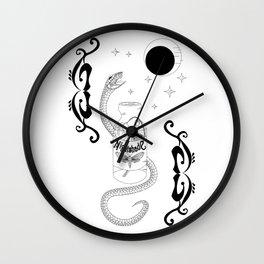 Deadly Nightshade Wall Clock