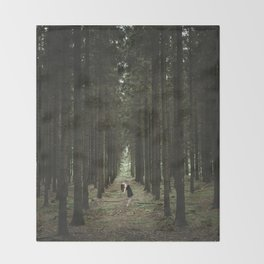 The Woods of St Olof 2 Throw Blanket