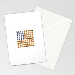 Emoji USA Flag Stationery Cards