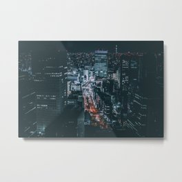 Big city lights Metal Print