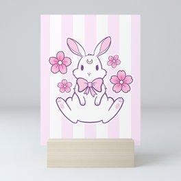 Sakura Bunny 02 Mini Art Print