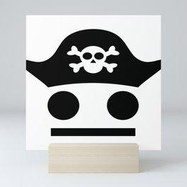 Pirate Serious Pirate Be Careful Mini Art Print