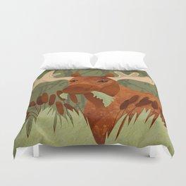 Moose Munch Duvet Cover