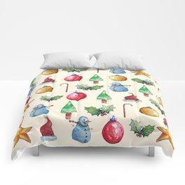 Christmas!! Pattern! (Holidays) Comforters