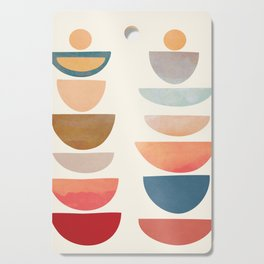 Modern Abstract Art 75 Cutting Board