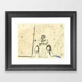 Got Love? Framed Art Print