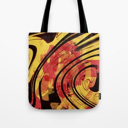 Her Plastered Insouciance  Tote Bag