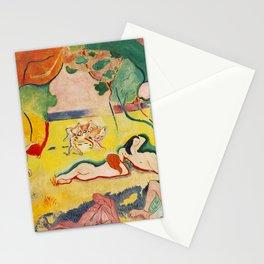 Henri Matisse - Le bonheur de Vivre (The Joy of Life) portrait painting Stationery Cards