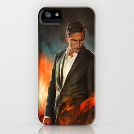 He Who Fights Monsters iPhone Case