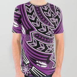Wind Spirit (Purple) All Over Graphic Tee