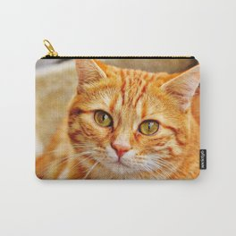 Cute red cat Carry-All Pouch