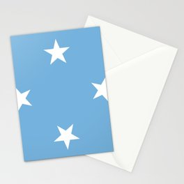 Federated States Of Micronesia Flag Stationery Cards