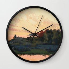 Inverhuron Provincial Park Wall Clock