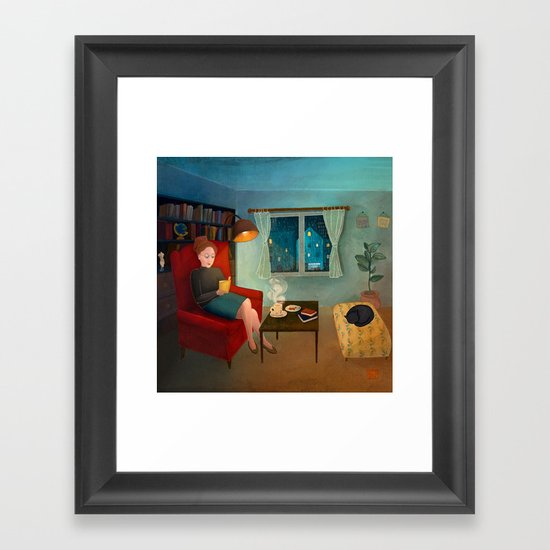 The First Rain Framed Art Print