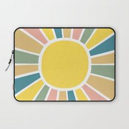 Retro Sunshine Laptop Sleeve