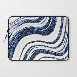 Textured Marble - Indigo Blue Laptop Sleeve