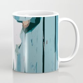 Abstract Cattle Skull Coffee Mug