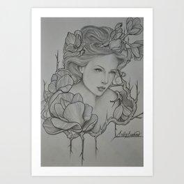 Anima Bella  Art Print