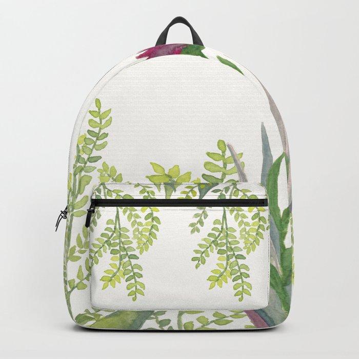 Botanical vibes 08 Backpack