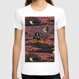 Halloween Night - Bonfire Glow T-shirt