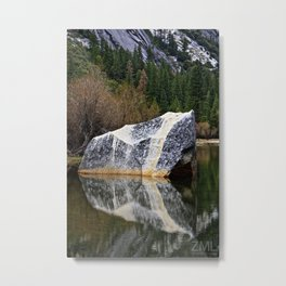 Reflector Metal Print